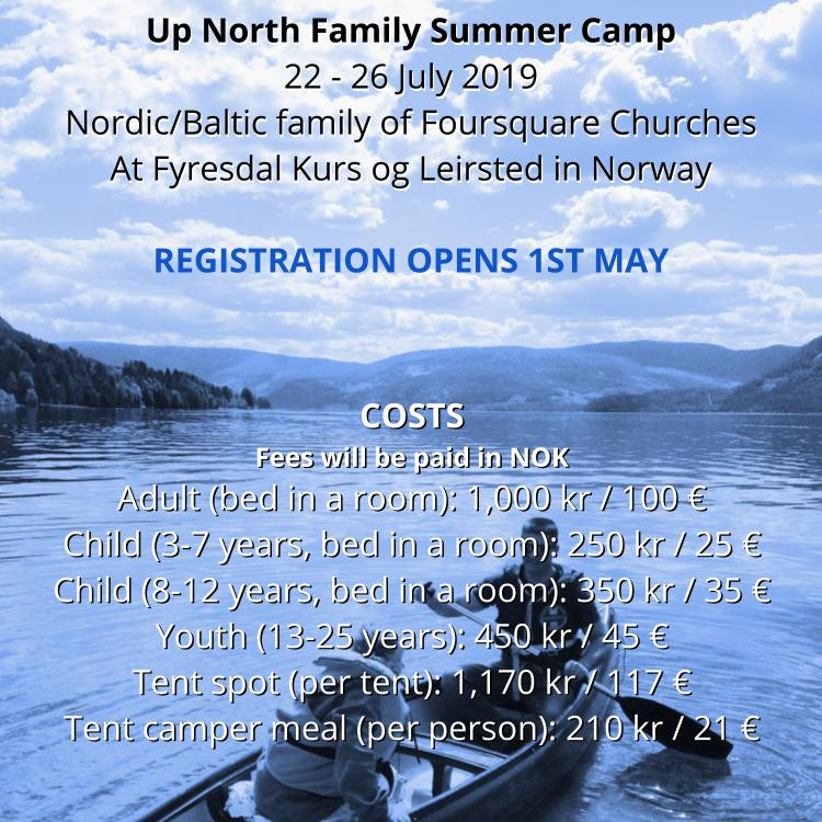 Announcement: 2019 summer family camp!